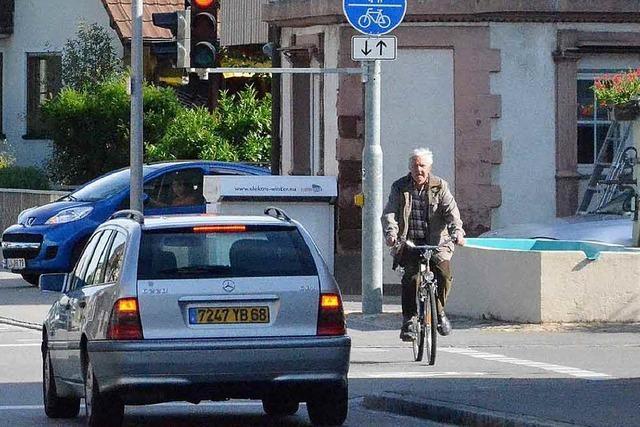 Radfahrer mögen's durchgängig