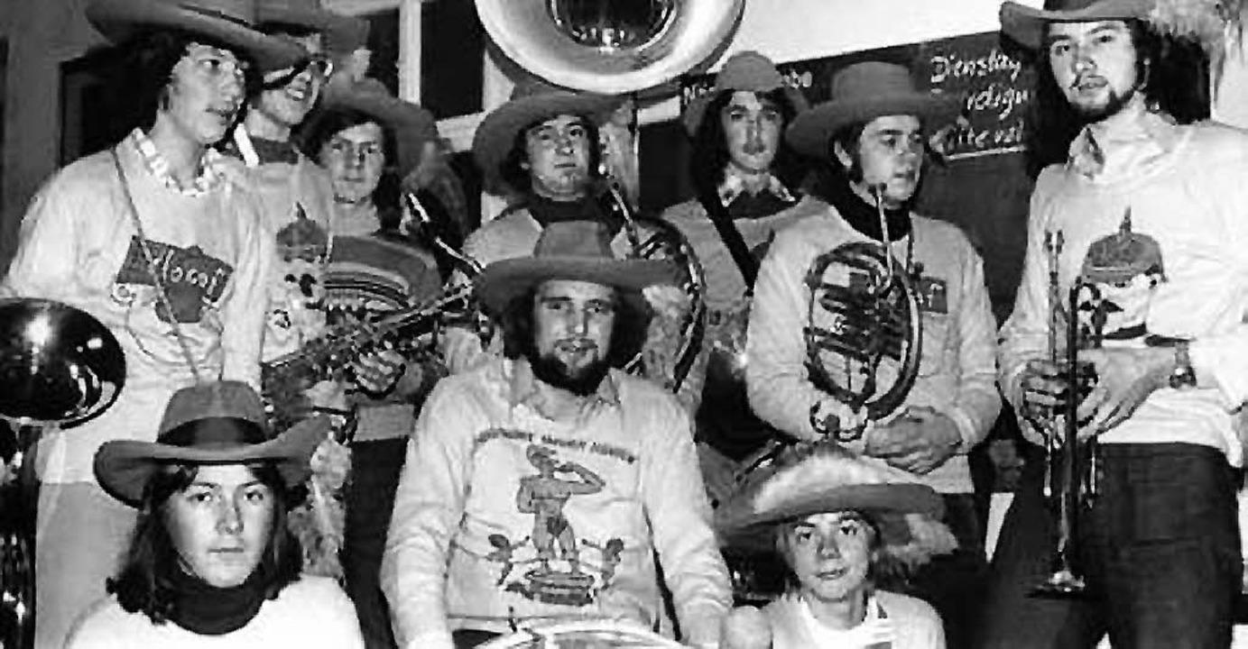 Chio Maicos im Gründungsjahr 1973 (rechts Heinz Blum)  | Foto: bz