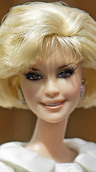 Die Barbie Liz Mohn  | Foto: dpa
