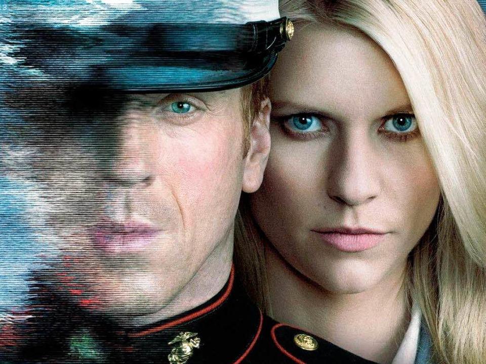 """Damian Lewis und Claire Danes spielen die Hauptrollen in """"Homeland""""     Foto: dpa"""