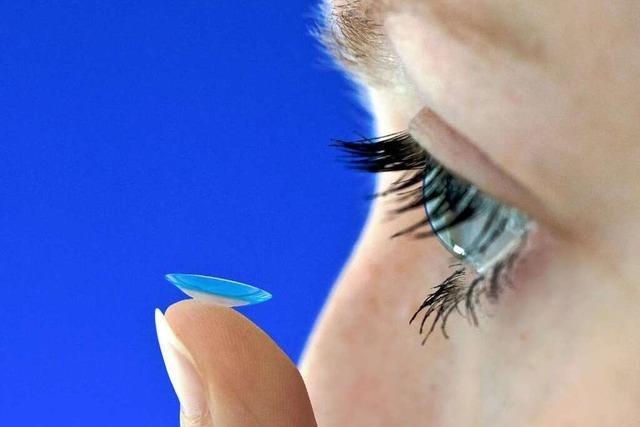 Der Kontaktlinsenhersteller Hecht aus Au sorgt für Durchblick