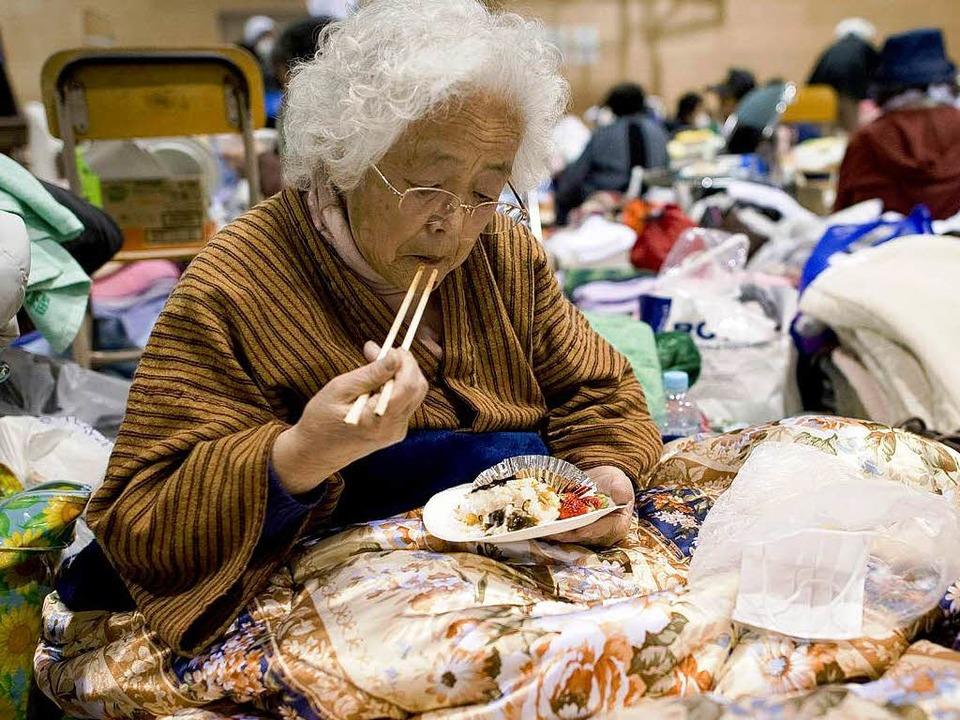 Viele ältere Japaner leben in Armut.  | Foto: AFP
