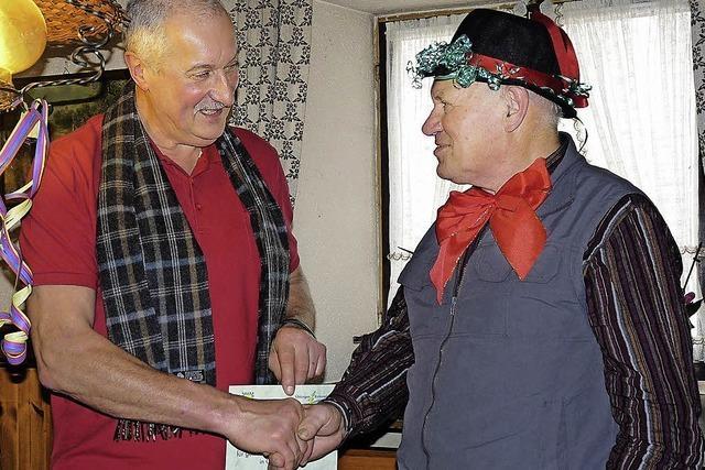 Auszeichnung: Egon Brogle ist Bürger des Jahres 2012