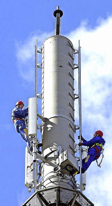 Eine LTE-Antenne   | Foto: dpa