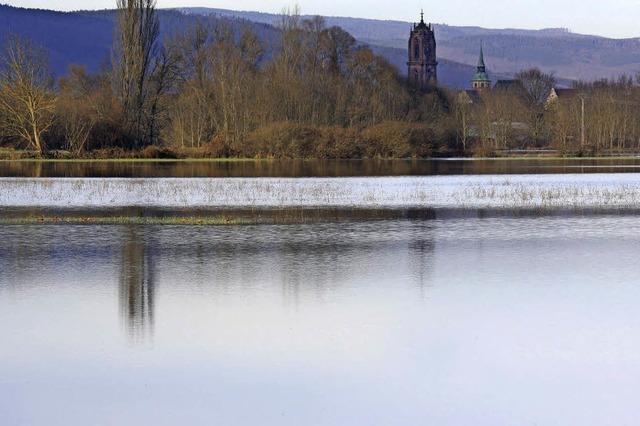 Viel Platz für das Hochwasser