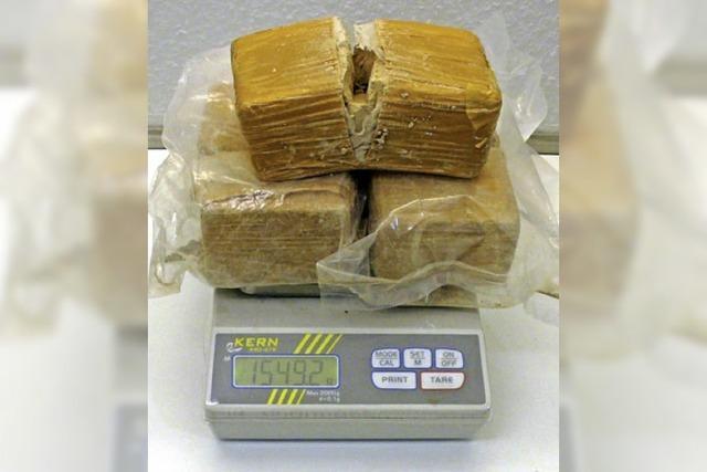 1,5 Kilo Heroin sichergestellt