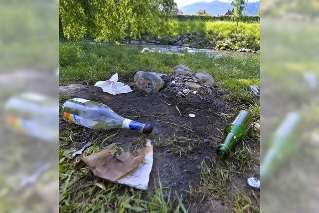 Bürgerwunsch Nummer 1: Stadt soll das Dreisamufer vom Müll befreien