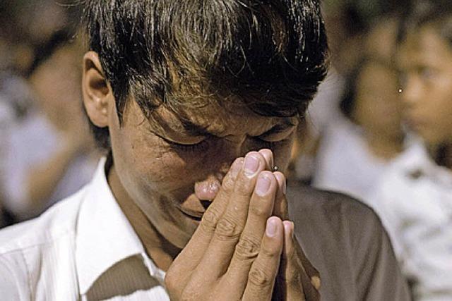 Sihanouk eingeäschert