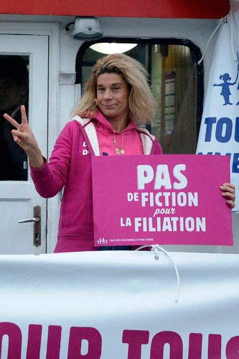 Prominente Gegnerin ist  Virginie Merle.  | Foto: AFP
