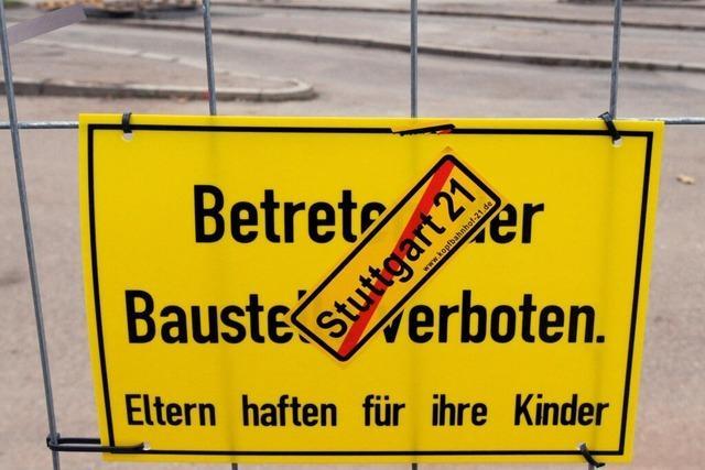 Zeitung: Bund geht auf Distanz zum Bahnhofsprojekt Stuttgart 21