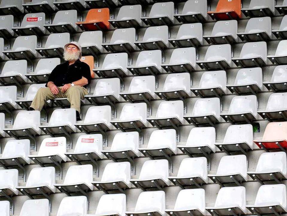 Wo steht das neue Stadion, in dem die ...iburg eines Tages Platz nehmen werden?    Foto: Ingo Schneider