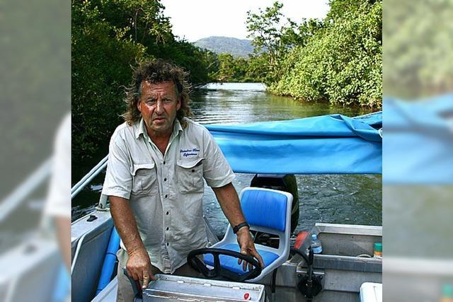 FLUCHTPUNKT: Bei Andy im Grusel-Boot