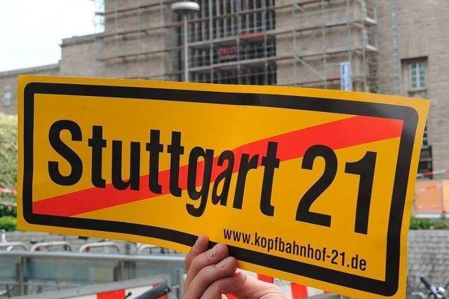 Bund verlangt vom Land höhere Beteiligung an S 21