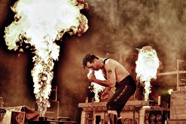 Rammstein-Tribute mit der Band Stahlzeit