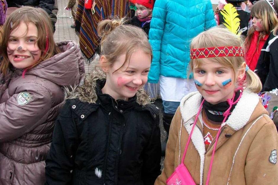 Impressionen vom Kinderumzug in Wehr (Foto: Michael Gottstein)