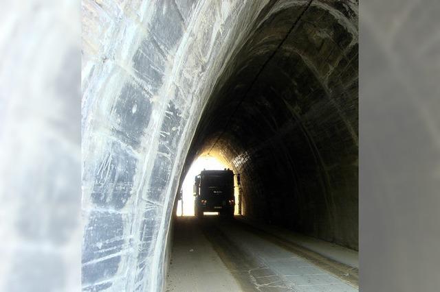 Jetzt wird der Tunnel erweitert