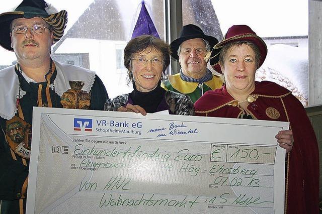 Burgvogt Kurt bringt Geld mit