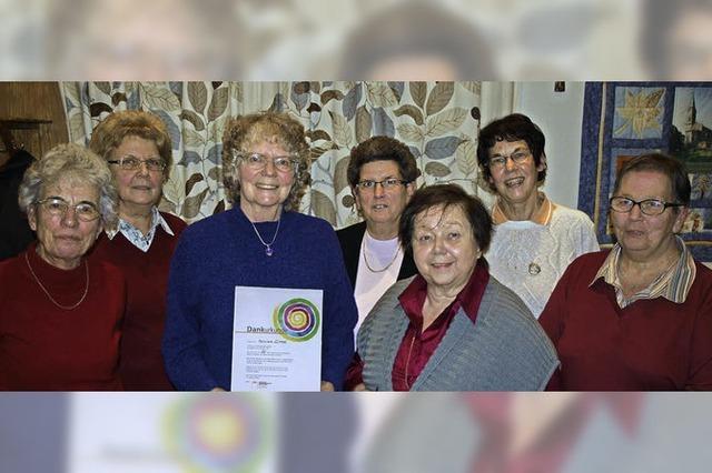 Die Frauenseite der Pfarrgemeinde
