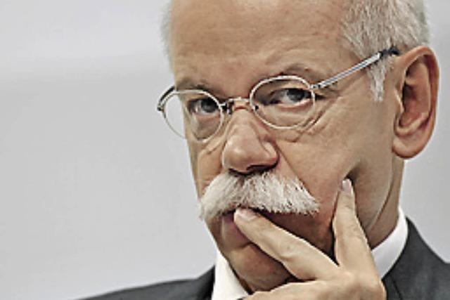 Daimler fährt BMW und Audi hinterher