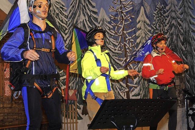 Holzwürmle, Skilift und Murmeltier-Ehepaar