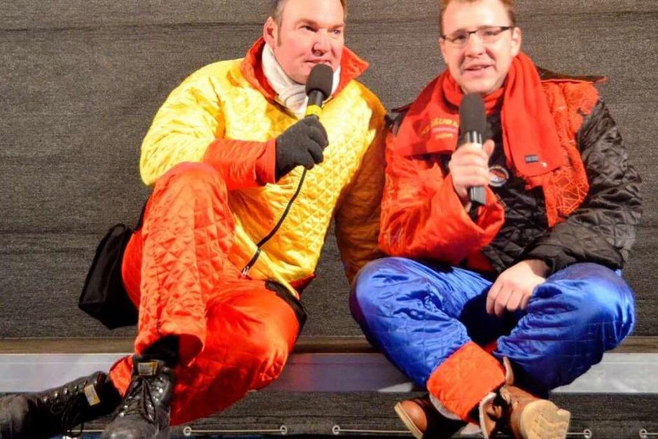 Thomas Schmiederer und Philipp Schäuble moderierten die Show (Foto: Ralf Staub)