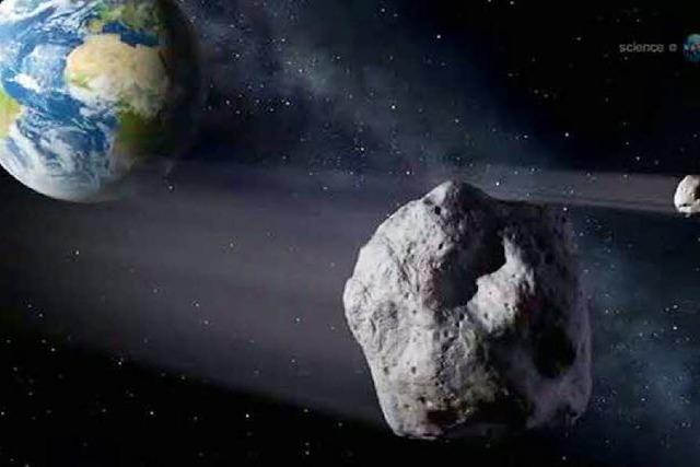 Asteroid verfehlt die Erde knapp