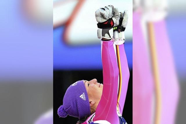 Riesenjubel in Schladming: Höfl-Riesch ist Weltmeisterin