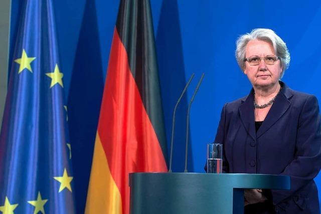 Im Wortlaut: Erklärung Annette Schavans zu ihrem Rücktritt als Bildungsministerin