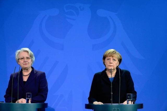 Im Wortlaut: Kanzlerin Angela Merkel zum Schavan-Rücktritt