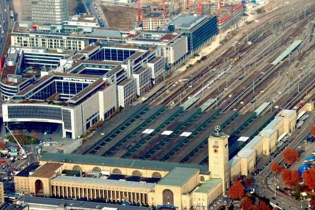 S-21-Befürworter greifen Deutsche Bahn an