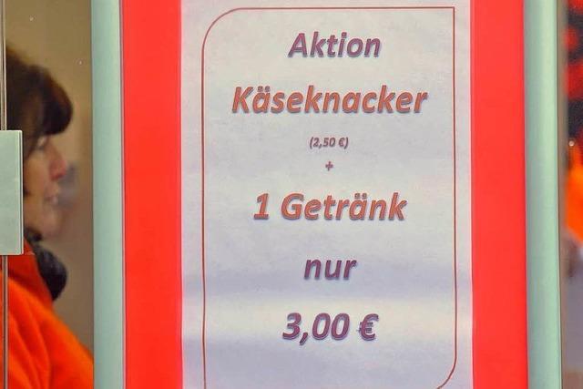 Bald Bratwurstkrieg auf dem Münsterplatz?