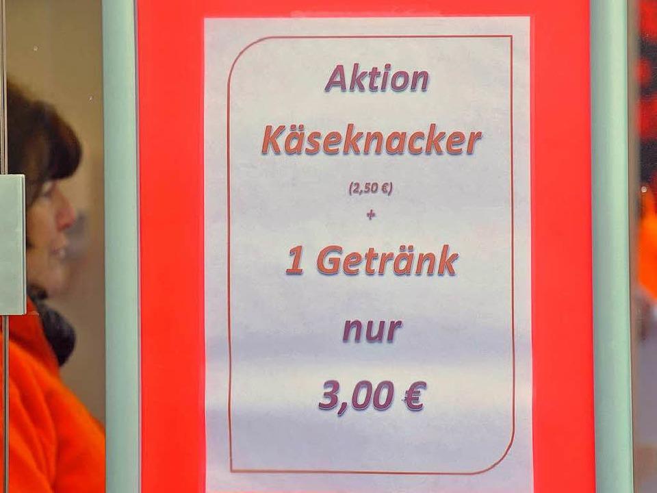 Sorgt für Ärger auf dem Münsterplatz: Das Kombiangebot von Dirk Licht.    Foto: Michael Bamberger