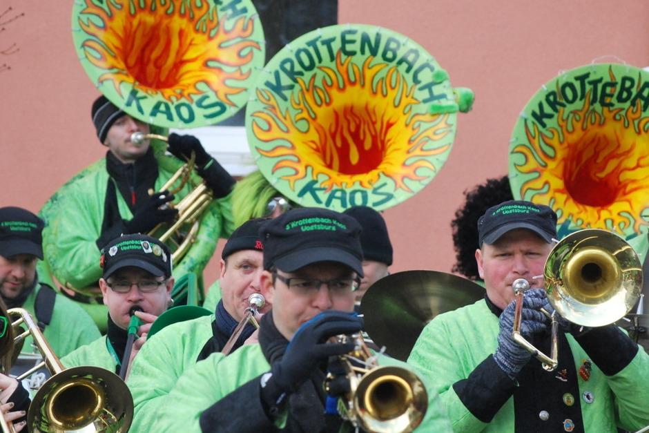 Impressionen vom Vogtsburger Narrentreffen in Achkarren (Foto: Benjamin Bohn)