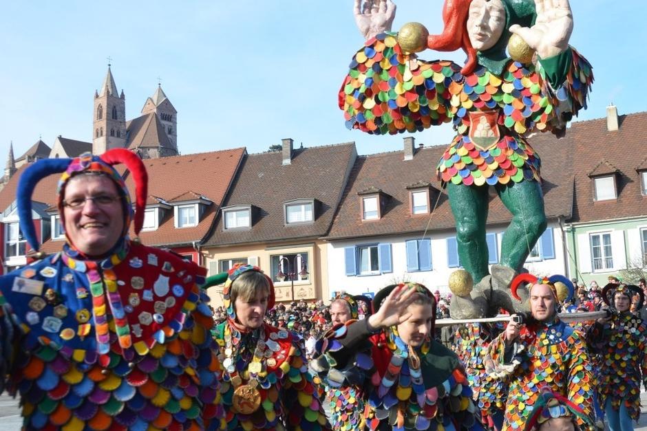 Impressionen vom Breisacher Gauklertag auf dem Marktplatz (Foto: Frank Kreutner)