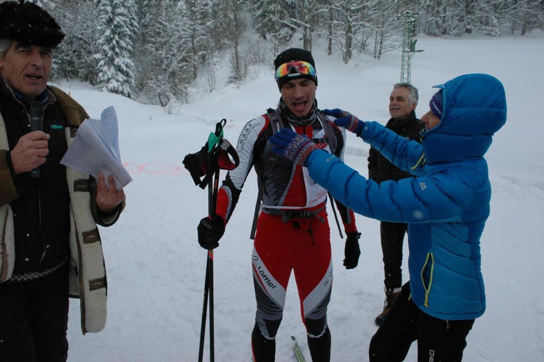 Marco Geiger vom SC Münstertal  war de...ellste über die 100-Kilometer-Strecke.  | Foto: Annemarie Zwick