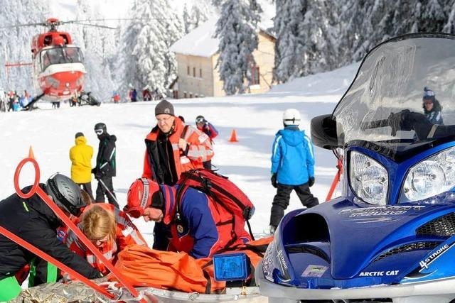 Bergwacht überall im Schwarzwald gefordert