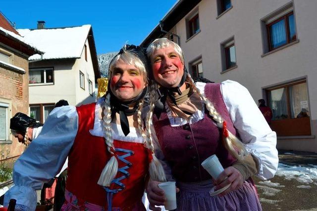 Fotos: Der Fasentumzug in Dörlinbach