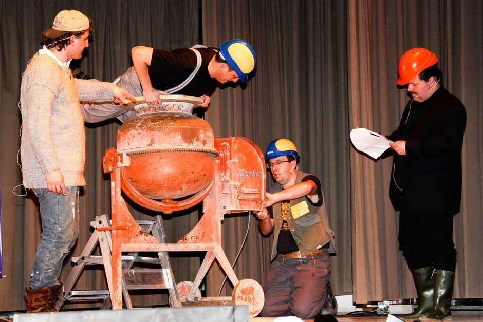 Baustellenkontrolle im HdG (Foto: Chris Seifried)