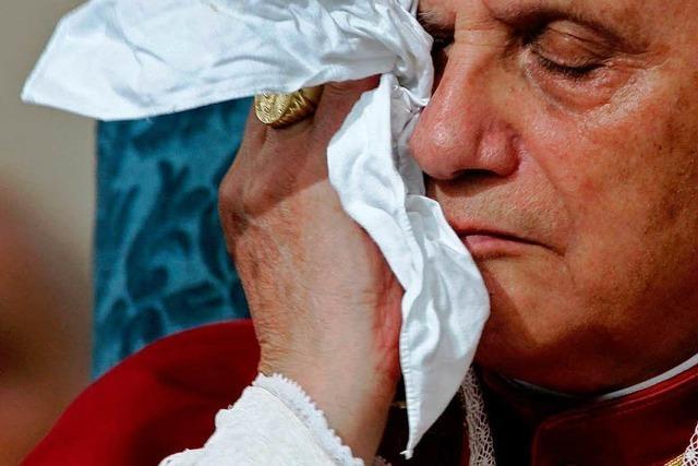 Wortlaut: Papst begründet seinen Amtsverzicht