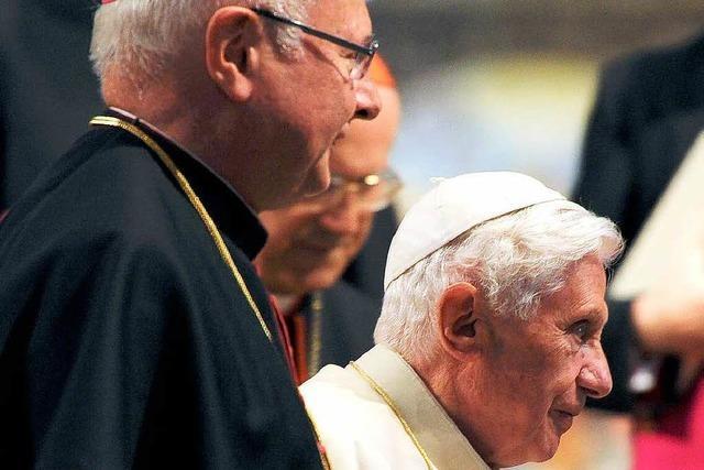 Zollitsch: Papst-Rücktritt ist