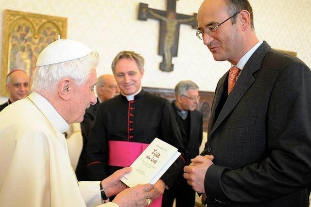 Papst-Verleger Herder über Hinweise auf Benedikts Rücktritt