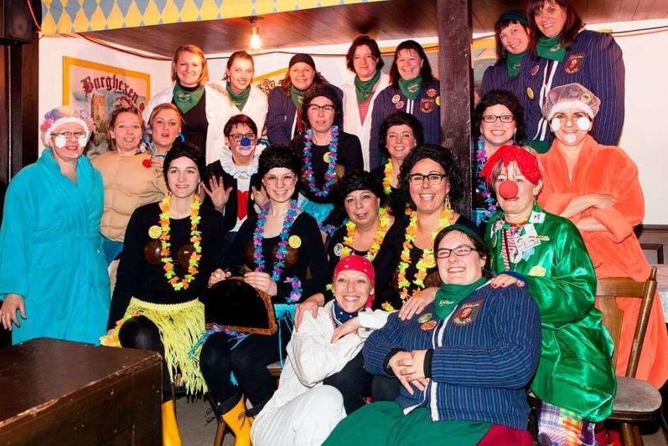 Das Frauen-Elfimess-Team (Foto: Photographer: Gabriele Zahn)