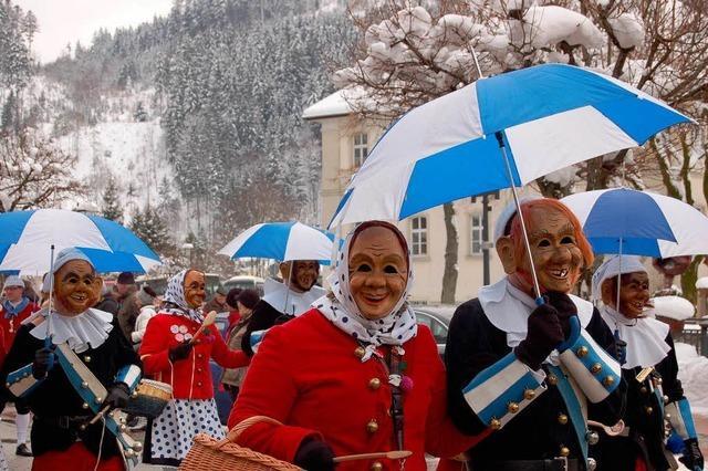 Fotos: Montagsumzug in St. Blasien
