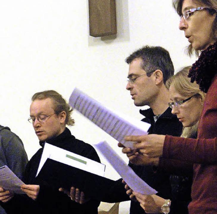 Ein Projektchor mit Bestand - vom Sing...ständigen Verein Tonart Kenzingen e.V.  | Foto: Katharina Bächle
