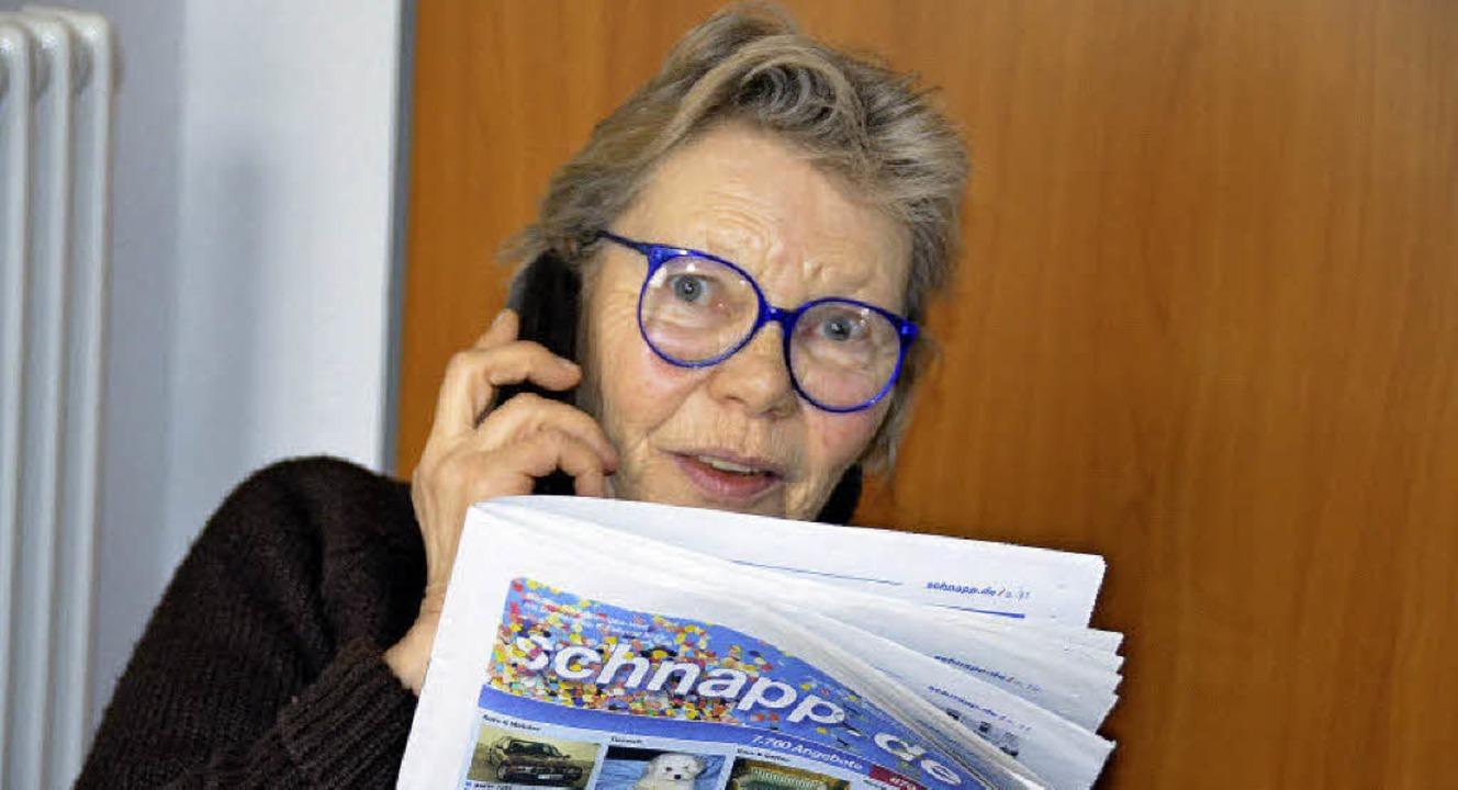 Ilona Kerzmann sucht seit Monaten nach...r Wohnung, die sie sich leisten kann.   | Foto: martin pfefferle