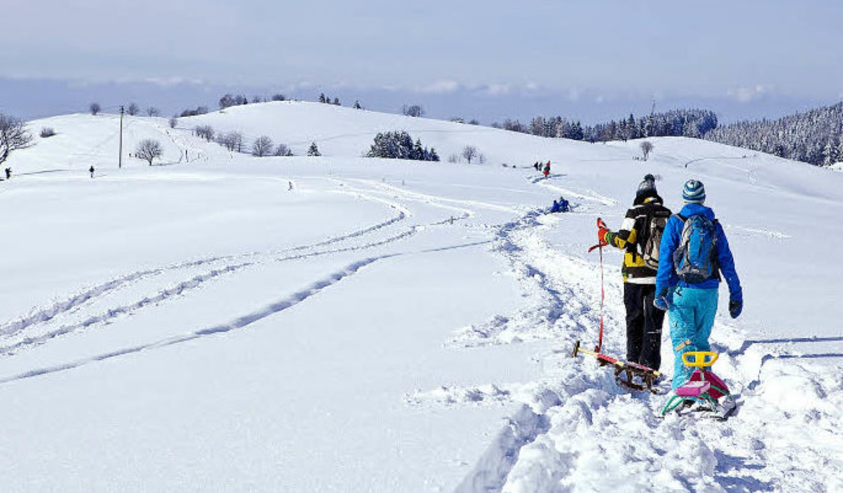 Etwa acht Kilometer lang geht's ...d über die Eduardshöhe zur Talstation.    Foto: Anita Fertl