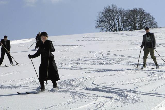 Beginn des Wintersports