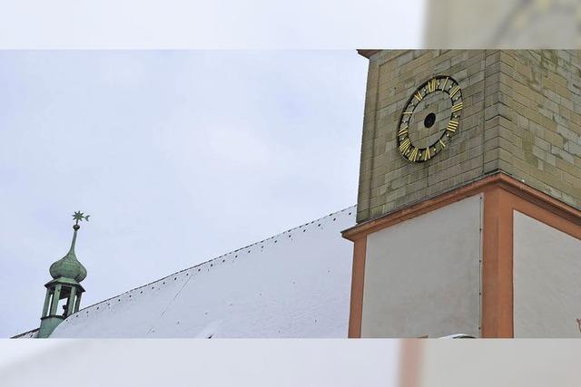 Uhren am Fridolinsmünster bekommen ihre Zeiger zurück