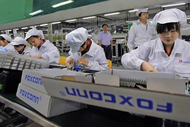 Foxconn: Betriebsrat soll Image aufpolieren