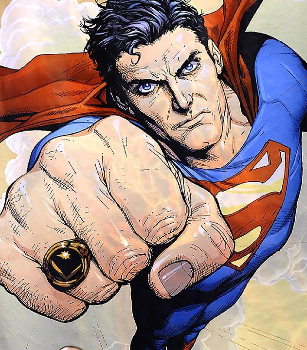 (Comic)Held  unserer Tage: Superman   | Foto: afp
